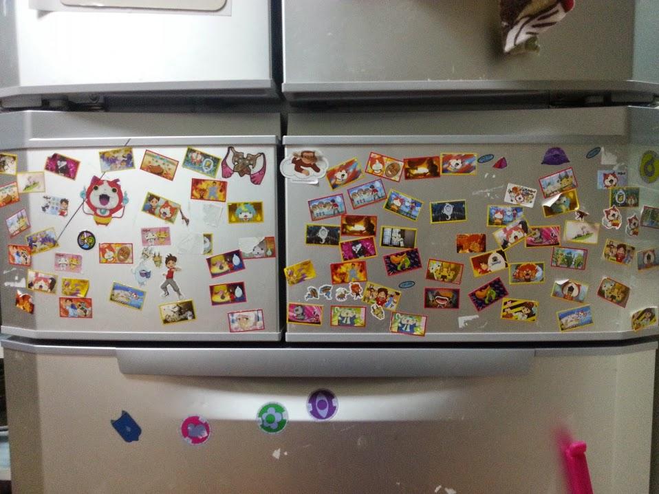 子どものいたずら。冷蔵庫にシールを貼って遊ぶ。綺麗に剥がすには?
