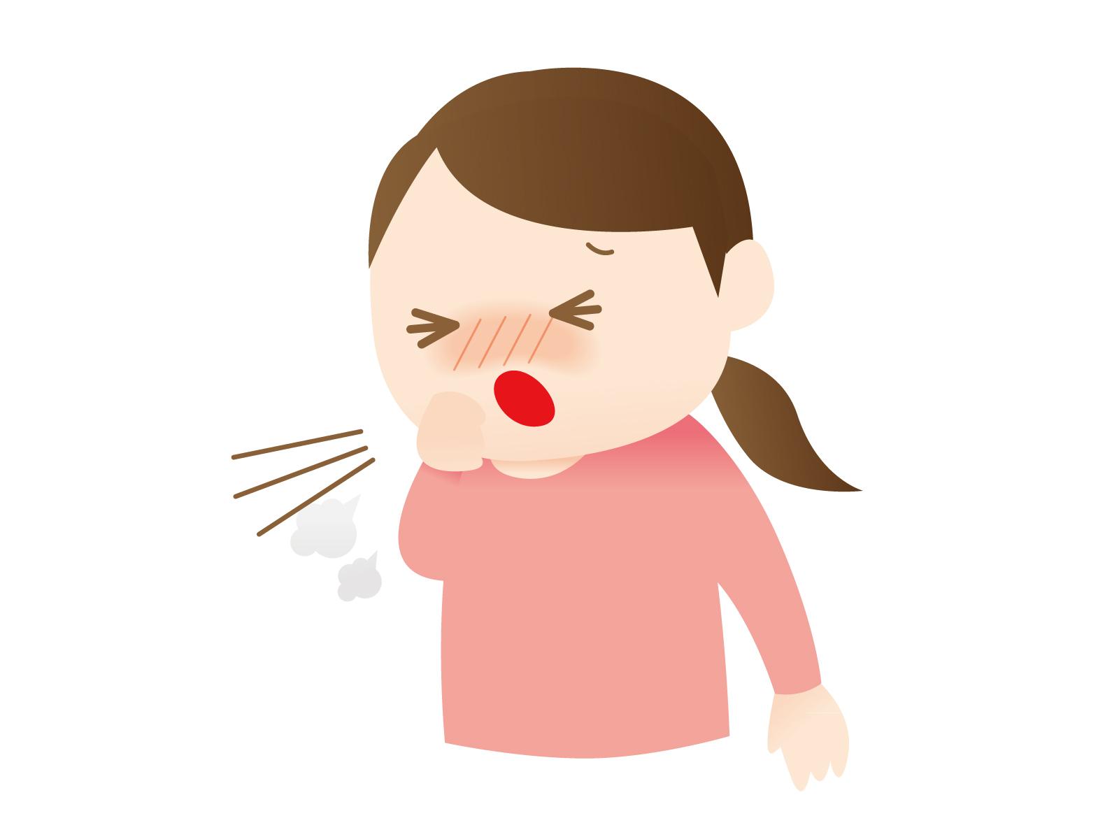 喉がかゆい!咳が止まらない原因とは?夜や朝に咳が出るのは?