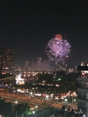 天神祭大阪の花火の時間は?打ち上げ場所や最寄駅はどこ?