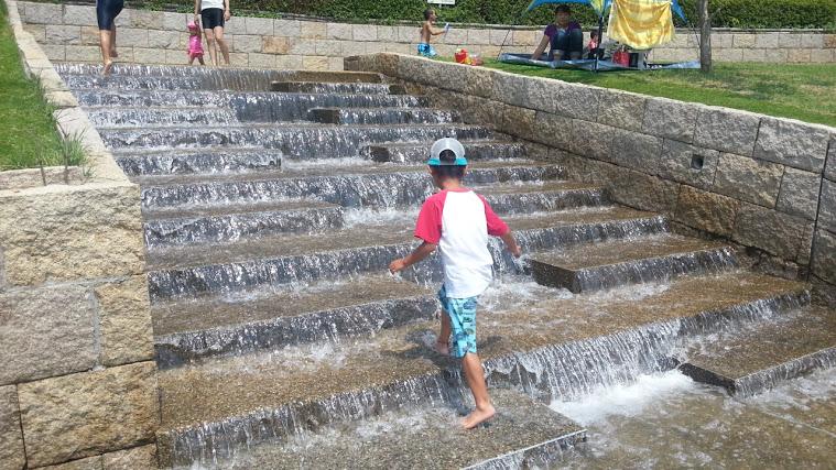 一庫公園の水遊びはどんな感じ?夏休みの混雑状況は?