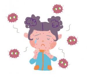 はしかの症状と順番は?潜伏期間と感染経路は?どのくらいで治るの?